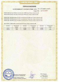 Сертификат соответствия на салют RU C-CN.ЦЦ09.А.00670-2 | Салюты Казани