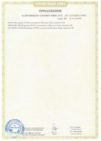 Сертификат соответствия на салют RU C-CN.ЦЦ09.А.00695-2 | Салюты Казани