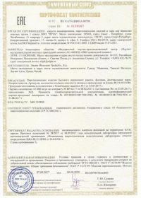 Сертификат соответствия на салют ТС RU C-CN.ЦЦ09.А.00700-1 | Салюты Казани