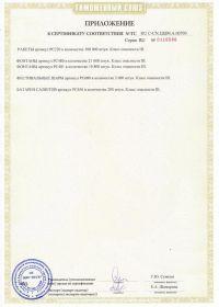 Сертификат соответствия на салют ТС RU C-CN.ЦЦ09.А.00700-2 | Салюты Казани
